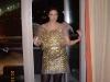 Maskerad på kvällen. Sarah var framtid, men det är väl helt uppenbart. Vi var iaf väldigt nöjda med bubbelplastklänningen alla tre...
