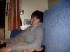 Och så var vi på väg hem, ganska slitna, eller Sarah var iaf sliten, men jag väljer att inte visa den bilden för hennes skull.. :D